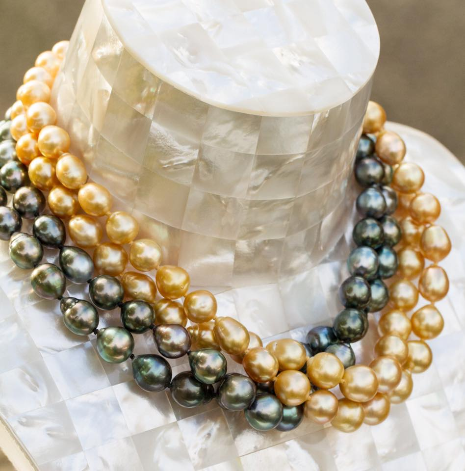 Kwan Collection beautiful pearl necklaces