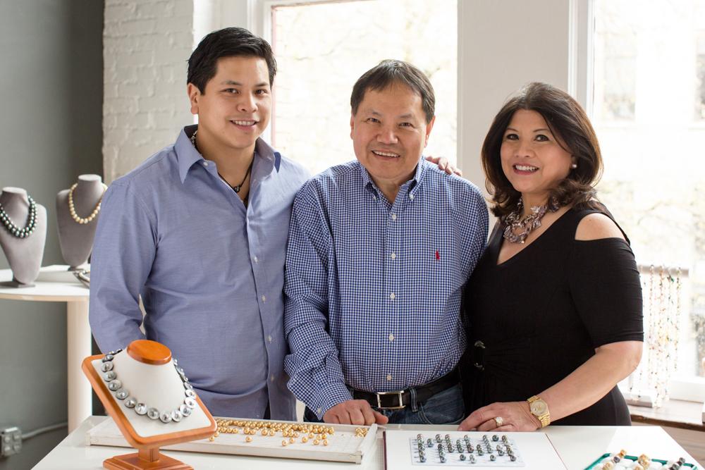 Nick Kwan and parents photo