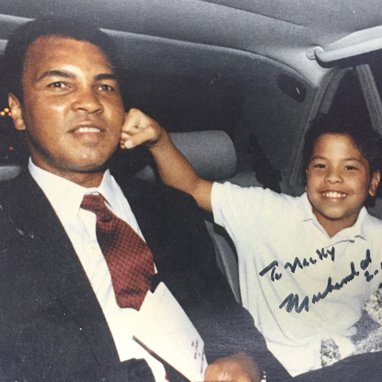 Nick Kwan and Muhammad Ali